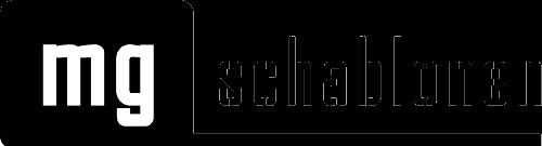 MG SCHABLONEN Logoschablone Textschablone Zahlenschablonen